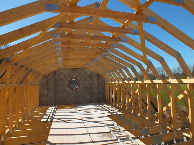Roof Trusses Trussed Rafters Amp Bolted Trusses Oak Trusses