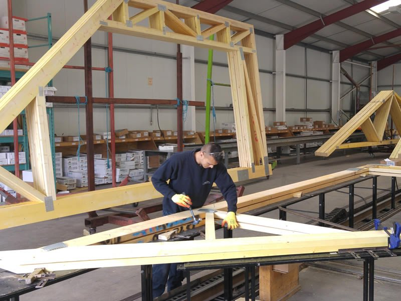 Aber Roof Truss achieves official membership of the 'Trussed Rafter Association'