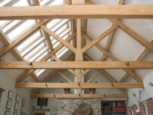 feature roof truss