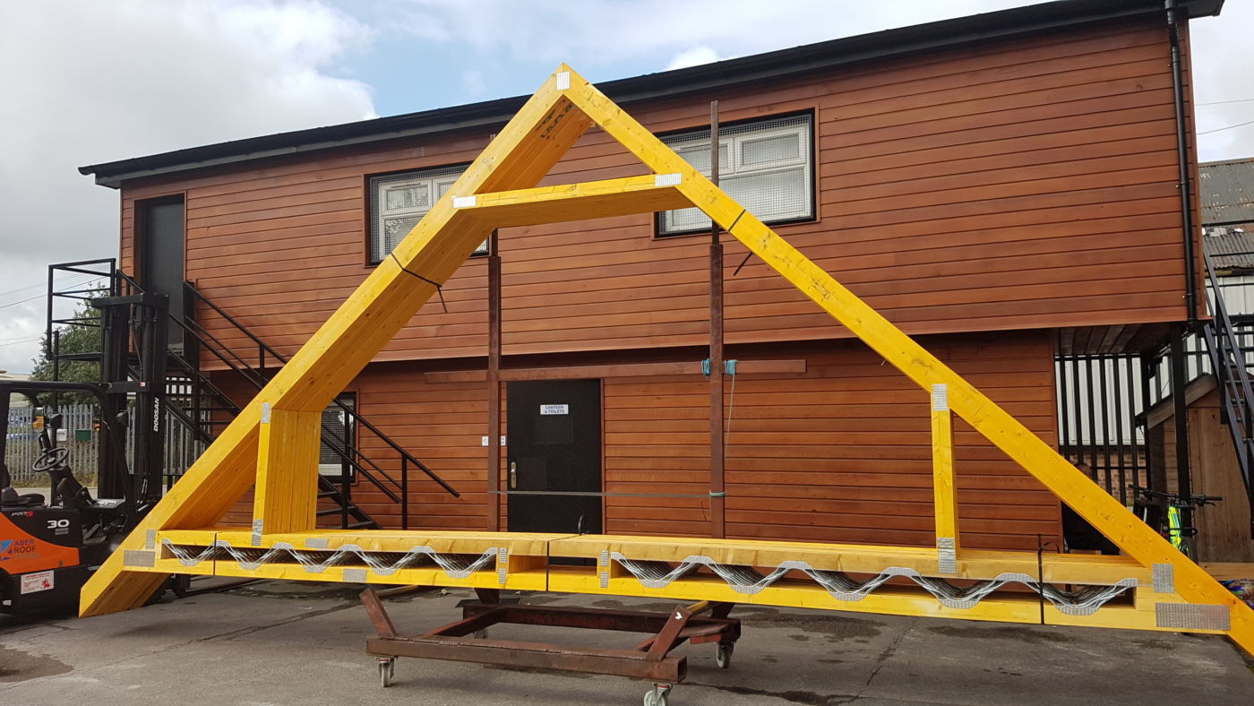 Projects archive aber roof truss for Buy roof trusses