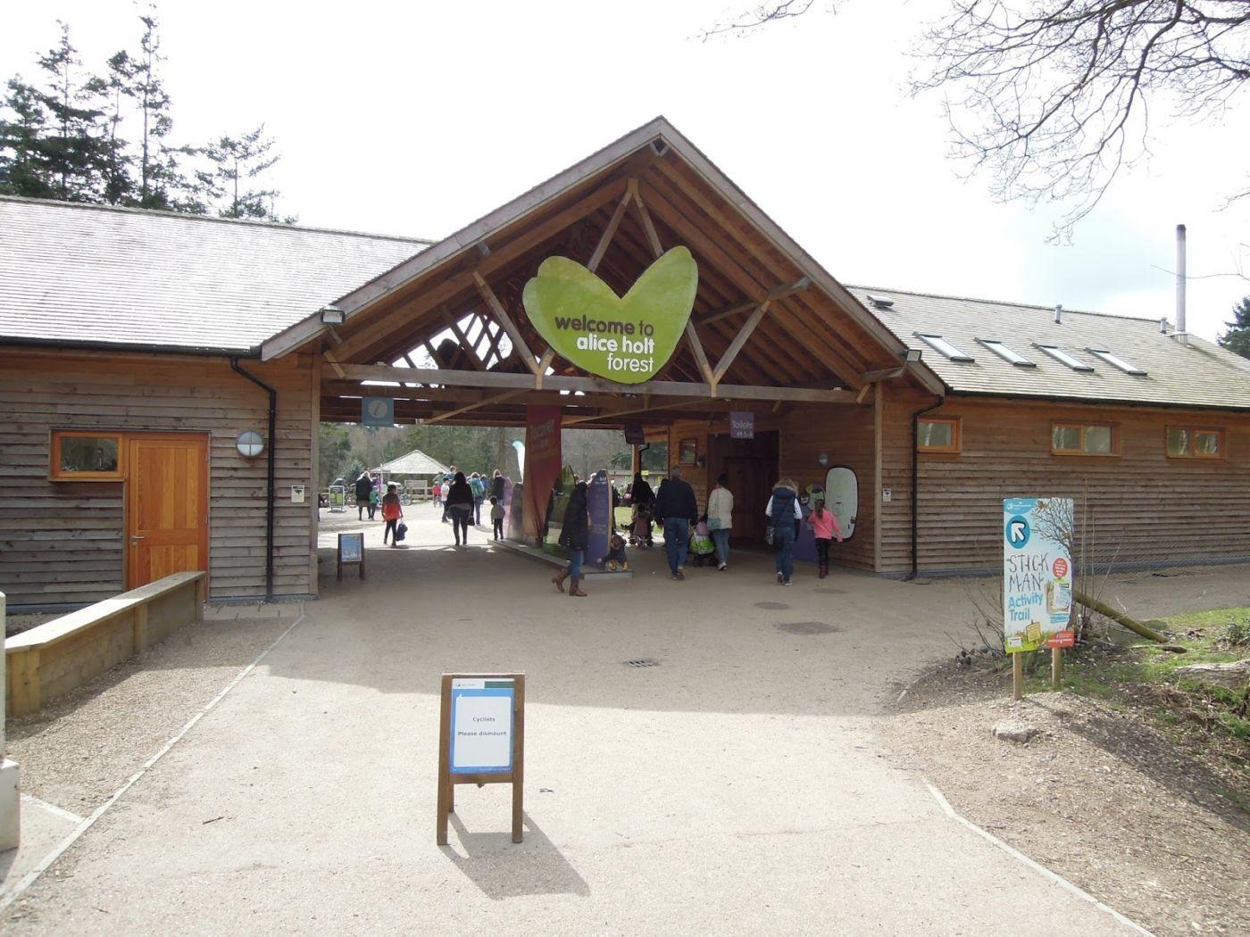 Alice Holt Forest Entrance